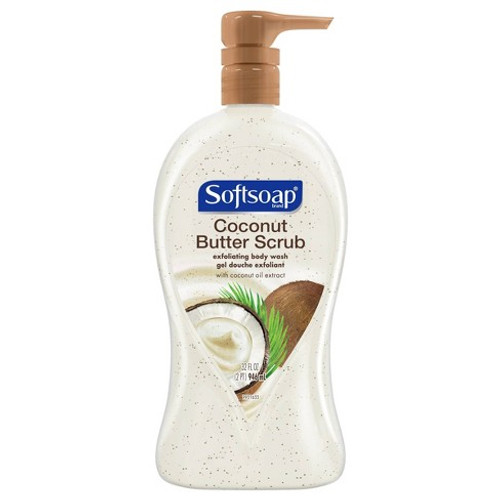 Softsoap Coconut Butter Scrub FREE