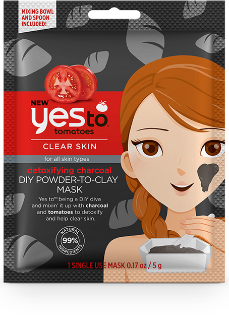 Yes To Tomatoes DIY Powder To Clay Mask (W)