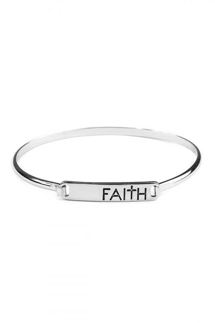 Hinge Plate Bracelet (W)