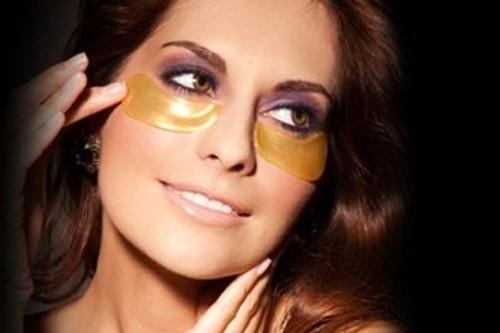 24K Gold Powder Gel Collagen Eye Mask FREE