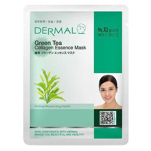 Dermal Green Tea Collagen Essence Mask Sheet Mask FREE