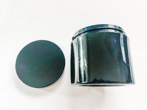 Black Jar Straight Base with Lid 4oz
