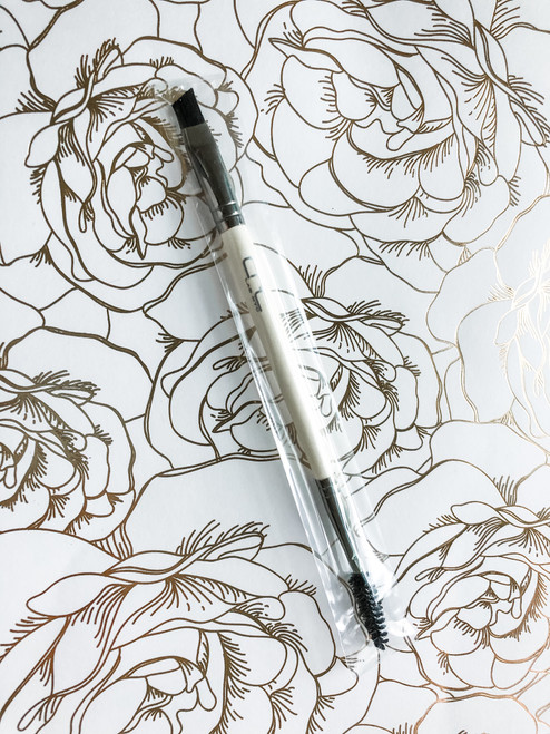 CRC Lab Dual Ended Brow Brush with Spoolie
