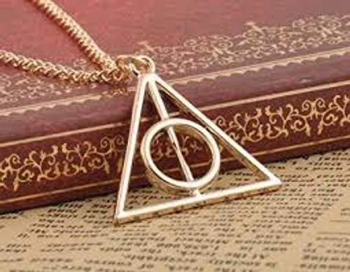 Harry Potter Inspired Deathly Hallows Necklace
