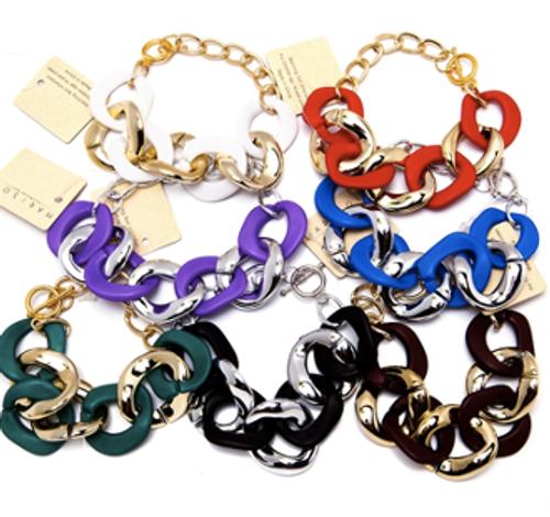 Color Chain Bracelet