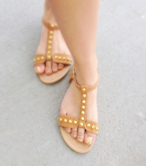 Studded Strapped Sandals (W)