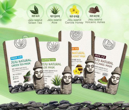 Jeju Natural Facial Mask FREE