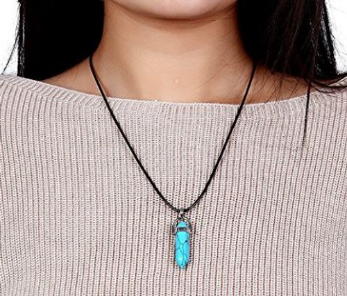 Natural Healing Stone Necklace (W)