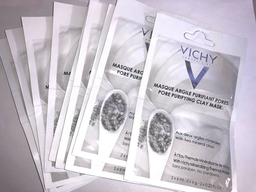 Vichy Pore Purifying Clay Mask, 2 Treatments FREE