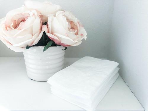 Reusable Washable Toilet Paper 16 Sheets - Zero Waste, Eco Friendly, Super Soft