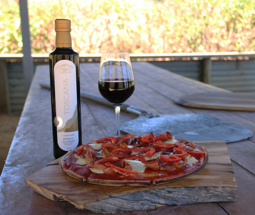 2019 harvest open day - wood fired pizza and wine