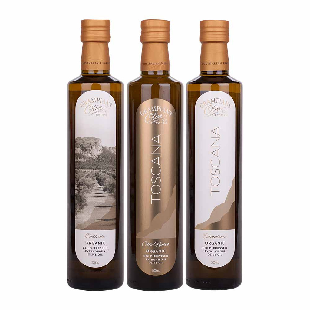 Gift pack for olive oil lovers