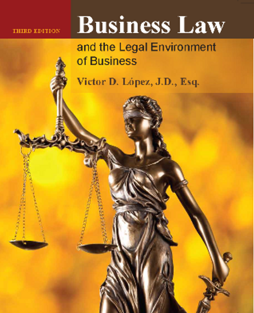 Business Law & the Legal Environment of Business (Black & White Paperback)