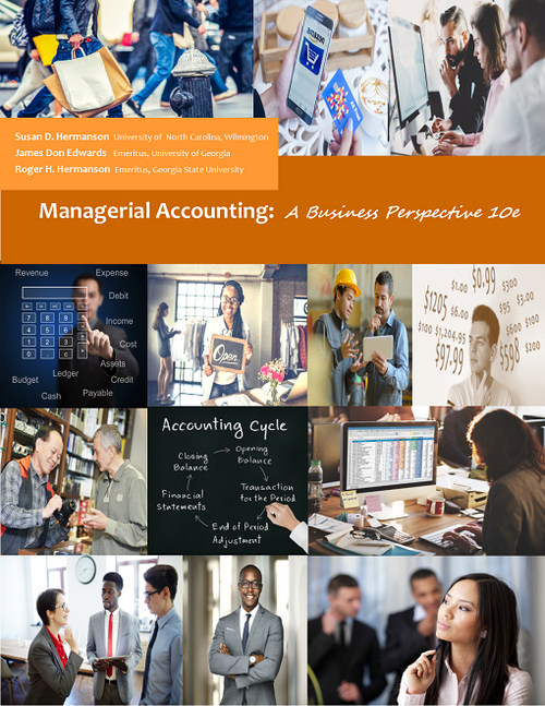 Managerial Accounting 10e (Black & White Paperback)