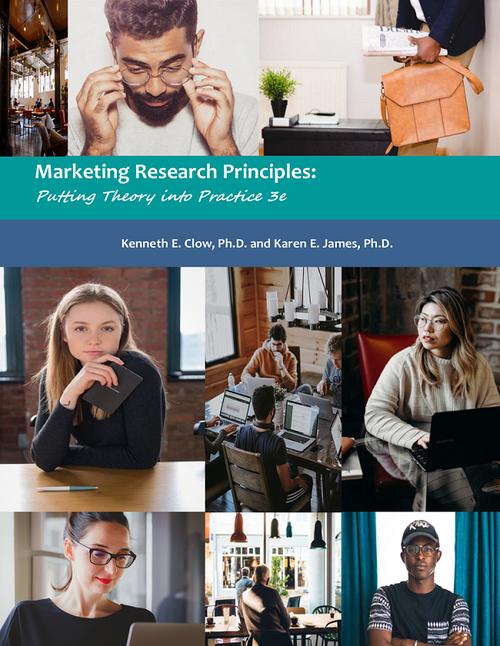 Marketing Research Principles 3e (Black & White Paperback)