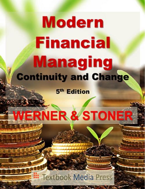 Modern Financial Managing 5e (Black & White Paperback)