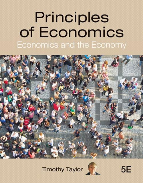 Principles of Economics 5e (Black & White Paperback)