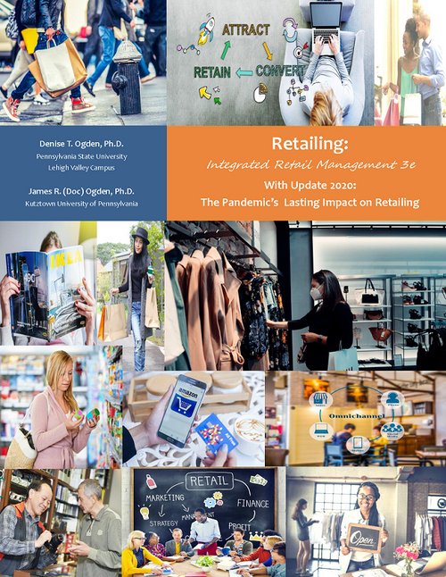 Retailing: Integrated Retail Management 3e  (Black & White Paperback)