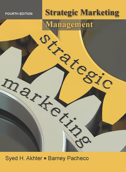 Strategic Marketing Management 4e (Black & White Paperback)