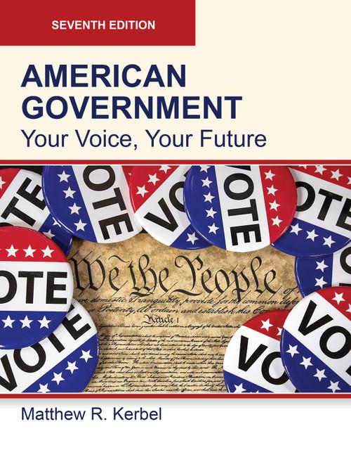 American Government 7e (Black & White Paperback)