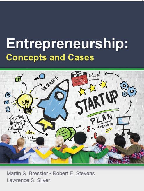 Entrepreneurship: Concepts & Cases (Black & White Paperback)
