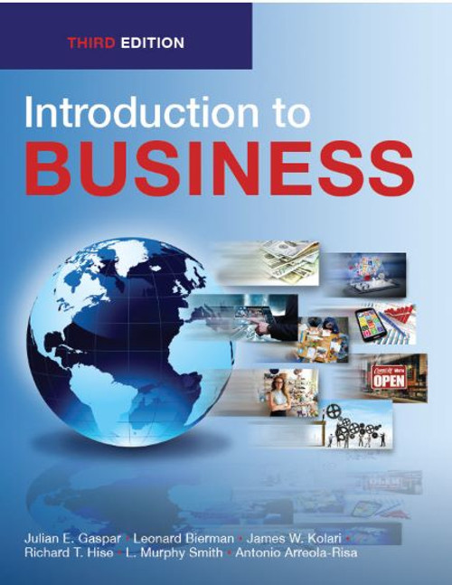 Introduction to Business (Black & White Paperback)