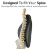 Designed to follow that natural curvature of your spine.