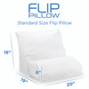 Flip Pillow Dimensions  - Standard