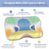CPAP Pillow 2.0 ergonomic design benefits CPAP users looking to improve compliance