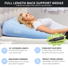 Also available is the 2-IN-1 Contour Back Wedge for elevated sleep