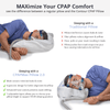 9 out of 10 PAP therapy users agree that the CPAPMax Pillow has improved their nightly compliance