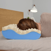Contour Pillow provides proper spinal alignment when side sleeping to help improve sleeping posture