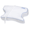 Contour Products CPAPMax CPAP Bed Pillow 2.0 features two large cutouts on either side of the pillow to allow your mask to rest freely without facial pressure, mask shifting or leaking