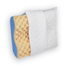 Contour Pillow provides orthopedic cervical support for side sleepers