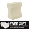 Free replacement cover with your Contour Leg Pillow order today!