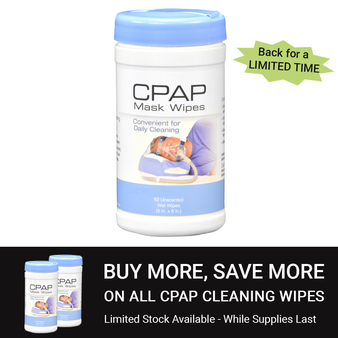CPAP Mask Wipes
