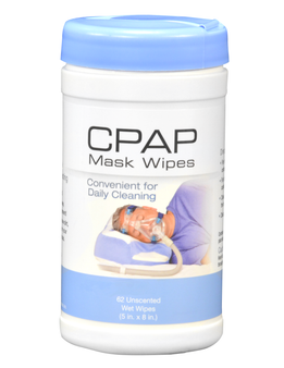 CPAP Mask Cleaning Wipes - Unscented