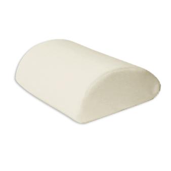 Contour Half Roll Half Moon Shaped Bolster Support Pillow