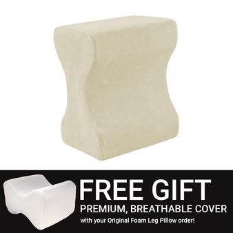 Today Receive a Free Pillow Case with your Leg Pillow order
