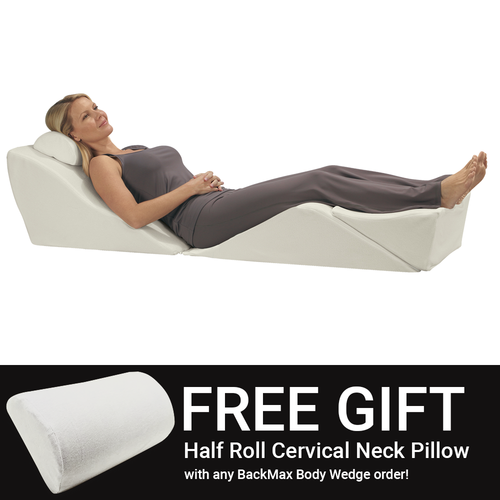 Free Half Roll Cervical Neck Support Pillow