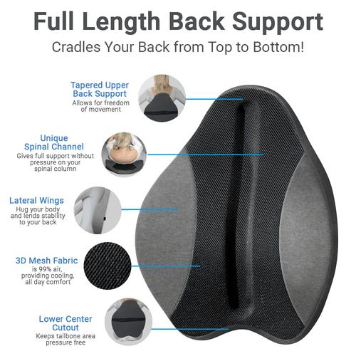 Chair Support Lumbar Pad Freedom Back Cushion