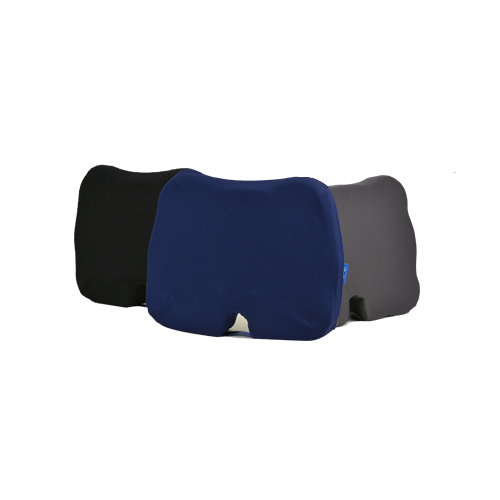 Replacement Covers for Kabooti Donut Seat Cushion available in Black, Blue, or Gray Removable, Washable Covers