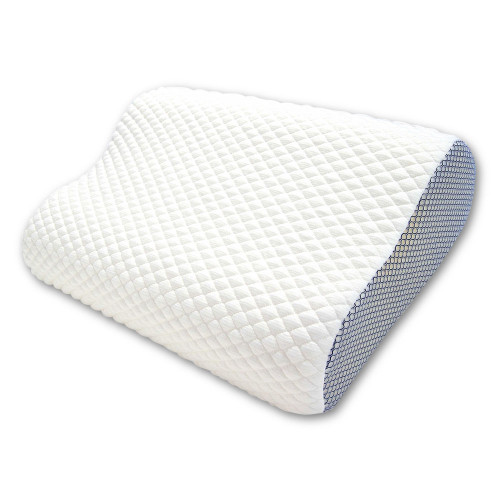 Cool Pillow Cover features premium quilted design and mesh sides for unique design and comfort