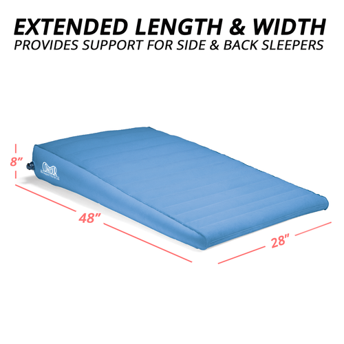 Inflatable Bed Wedge For Acid Reflux Sleep Better Xl Bed