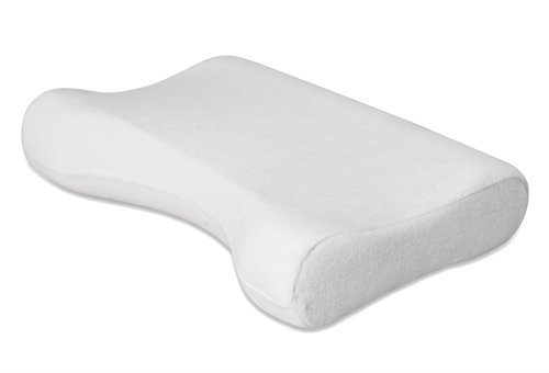Memory foam cervical pillow