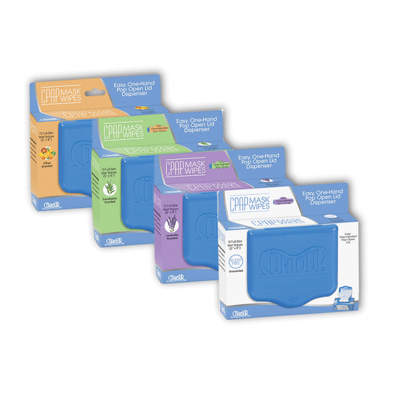Contour CPAP Wipes, 72 ct. Resealable Package