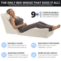 The only bed wedge that does it all