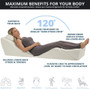 Use as Back Wedge for resting or relaxing while watching tv, eating or reading