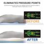 The Contour Cloud Mattress Topper eliminated painful pressure points