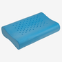 Premium memory foam is ventilated for added air flow